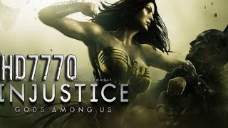 Injustice | God Among Us Gameplay HD7770 | AMD Athlon II X4 640 | 1080p