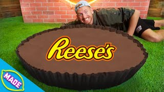 We Made a Giant Reese's Cup!!