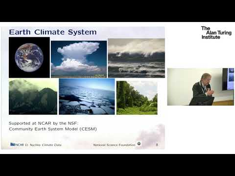 Climate data science: a tour - Professor Doug Nychka, National Center for Atmospheric Research