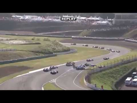 Big Start Crash @ 2014 Super Formula Sugo