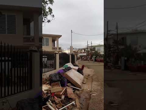 Chu Valle el de Aguada. El huracán María