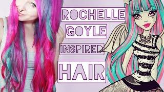 Haare wie Rochelle Goyle ! (Monster High)