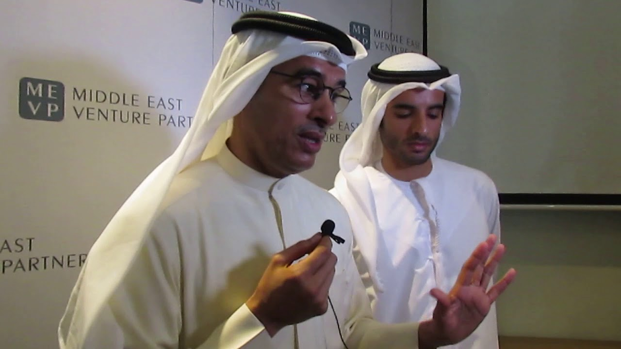MOHAMED ALABBAR, a strategic investment partner in MEVP talks to the Media