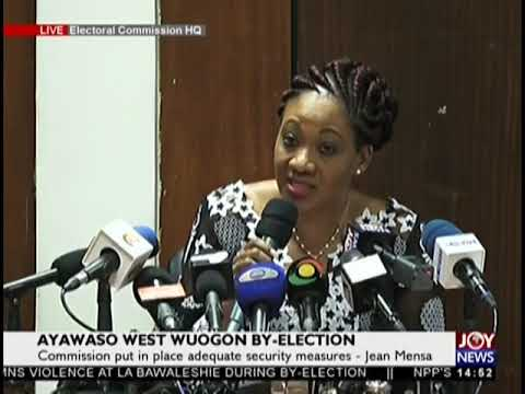Electoral Commission addresses media on JoyNews (1-2-19)
