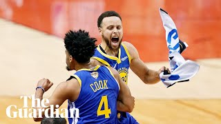 'Our DNA shows up', says Steph Curry after Warriors beat Raptors to tie NBA finals