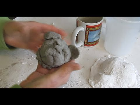 Casting Concrete Fast Faces with Rebound 25 Brush-on Mold