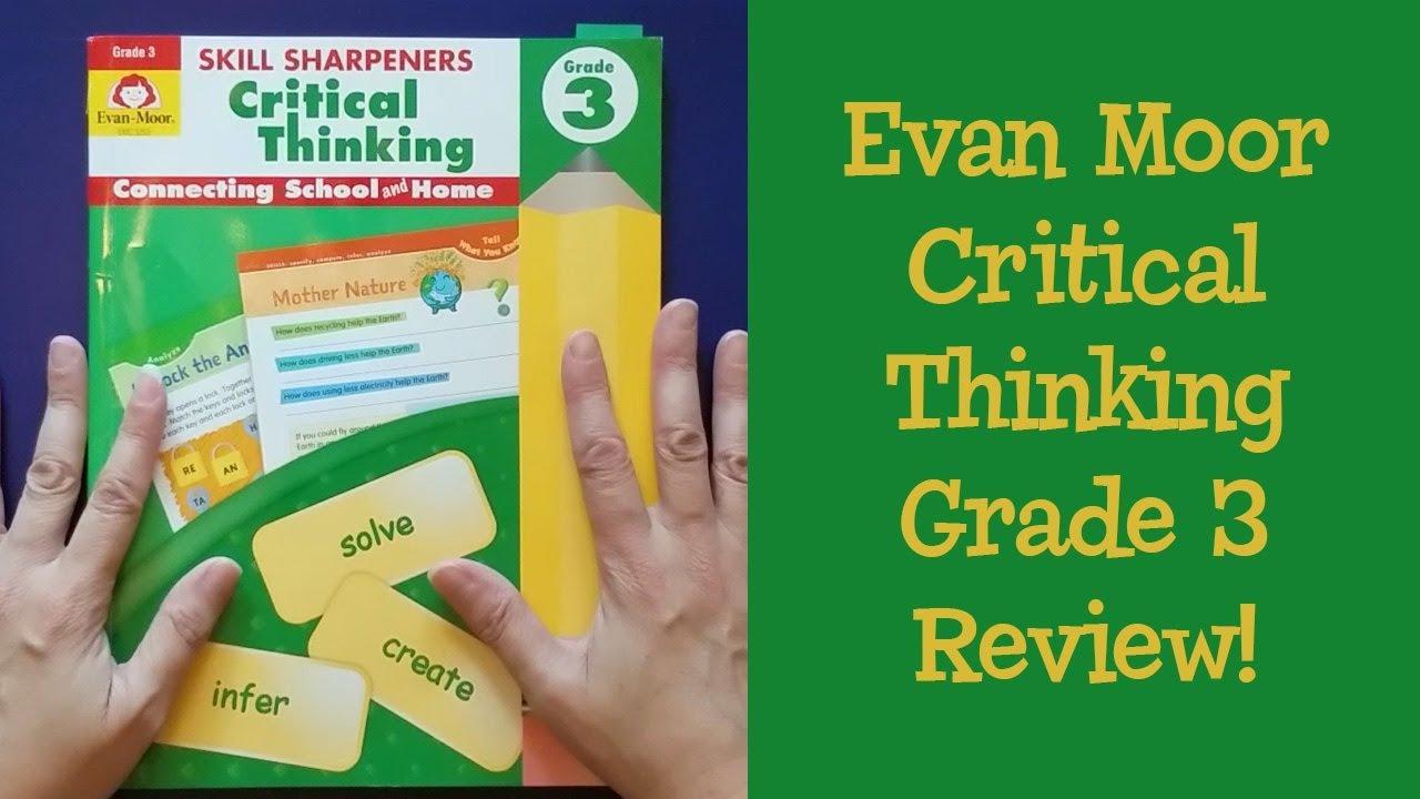Evan Moor Skill Sharpeners Thinking Skills Grade 3 Homeschool Curriculum  Review