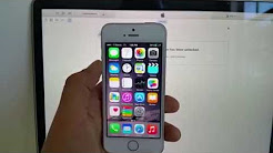 How to Unlock iPhone 5S 5 6 With Apple's Factory Unlock