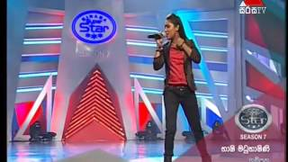 Bashi Madubashini භාෂි best  performance in Sirasa S.S