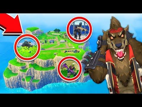 דרך חדשה להגיע לאי ההתחלתי בפורטנייט!!! + שיחקנו מחבואים שם! (Fortnite Battle Royale)