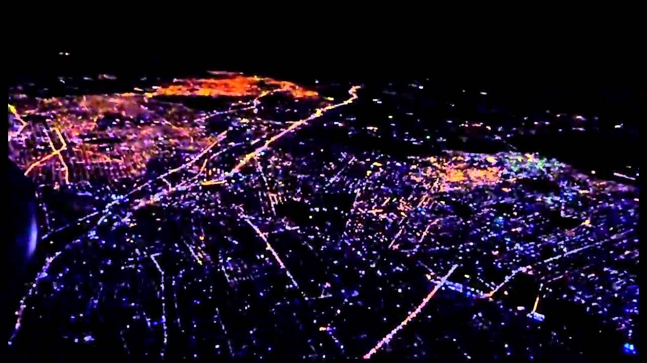 Despegue De Noche En Buenos Aires Argentina American