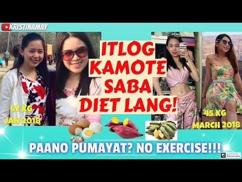 paano-pumayat?🥚itlog🍠kamote🍌saba-diet-lang!walang-exercise