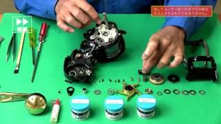 Техническое обслуживание Electric reel Shimano Beast Master 3000 (Maintenance Japan)