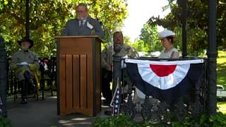 HEADSTONE DEDICATION @ HOLLYWOOD CEMETERY MAY 31, 2014
