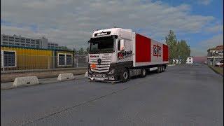 1.32 Euro Truck Simulator 2   New Actros Valhein Edit   Mods