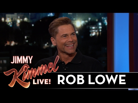 Rob Lowe Was Mauled by a Condor