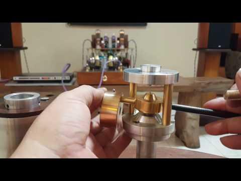 My DIY Tonearm Magnet schroeder Style_clone Attitube.