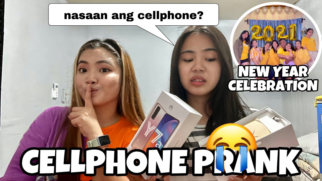 CELLPHONE PRANK TO MY SISTER + NEW YEAR CELEBRATION