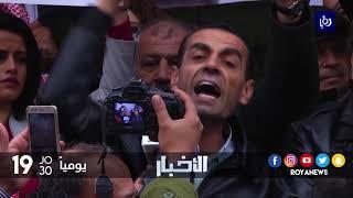 توقيف زميلين صحفيين إثر شكوى تقدم بها وزير المالية - (17-1-2018)