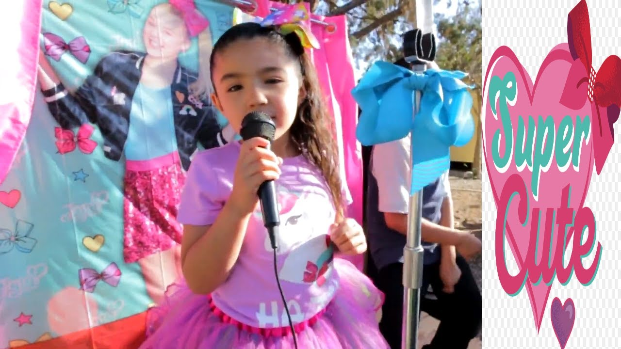 Jojo Siwa Themed Birthday Party Super Fan Decorations Ideas Youtube