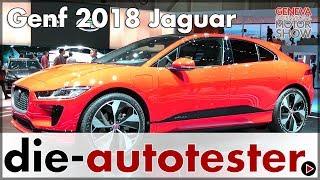 2018 Genf: Jaguar präsentiert Jaguar I-Pace & Range Rover SV Coupe | Messe | Deutsch