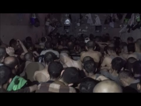 A Look Inside An Iraqi Army Prison For ISIS Fighters Only, Made Just For Suffering..