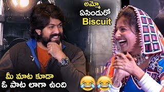 KGF Hero Yash Makes Fun With Mangli || KGF Movie Interview with Mangli || Life Andhra TV ||