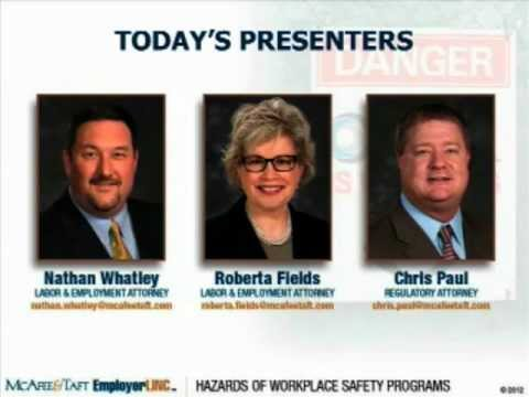 Avoiding The Hazards Of Workplace Safety Programs