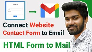 HTML Form To Mail   Contact Form To Email The Fastest Way   Contact Page With Php Mail