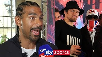 David Haye breaks down WHY he believes Derek Chisora can beat Oleksandr Usyk