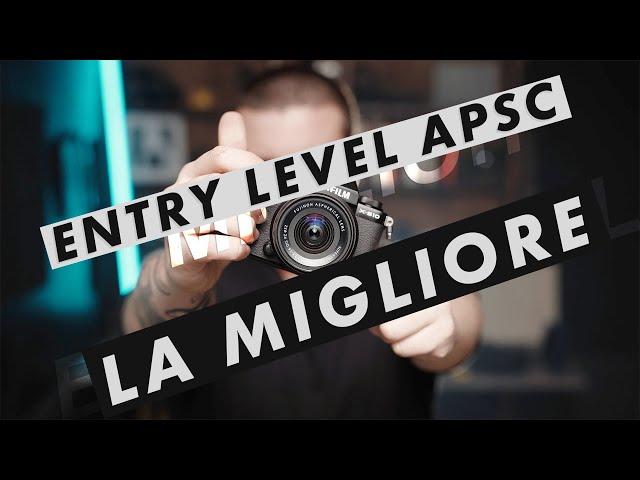 Fujifilm XS10 - La migliore APSC per INIZIARE per FOTO e VIDEO???
