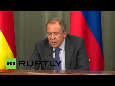 """Russia: """"Foreign govts want Minsk deal to fail!"""" - Lavrov"""