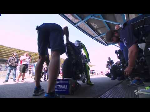 Assen 2014 - Yamaha Technical Preview