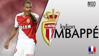 Kylian mbappé | as monaco | goals, skills, assists | 2016/17 - hd (#2)