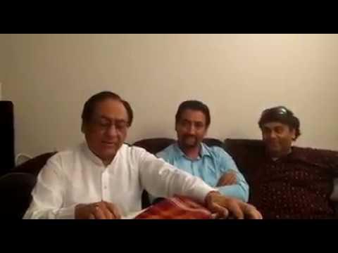 Pata Pata Boota Boota By Ghulam Ali With Ali Naqqi Private Mehfil