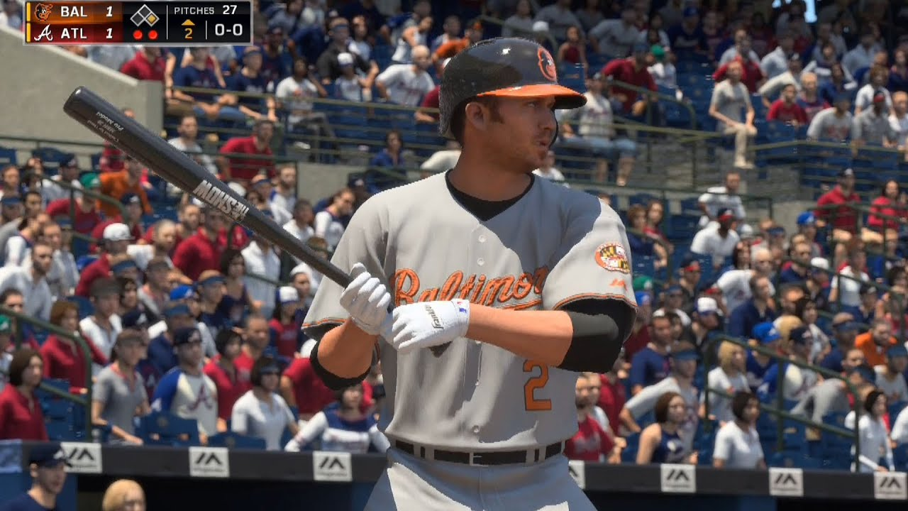 Mlb The Show  Baltimore Orioles Vs Atlanta Braves Gameplay Pspfps Youtube
