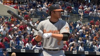 MLB The Show 16 - Baltimore Orioles vs Atlanta Braves | Gameplay (PS4 HD) [1080p60FPS]