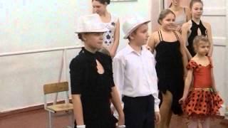 Новогодний открытый урок танца клуба Маэстро г.Днепропетровск 2