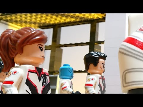 Avengers Endgame Official Trailer 2 in LEGO / Marvel
