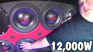 BLOWN Subwoofer... NO PROBLEM! Rob's Clean Powerbass Sound System w/ HUGE XTA-6000D Bass Amp Install