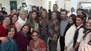 Visita Gobernadora Hospital General de Agua Prieta