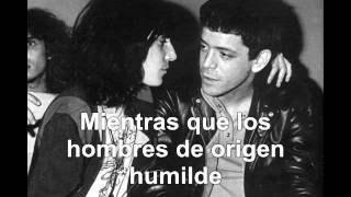 LOU REED - MEN OF GOOD FORTUNE (Hombres con fortuna)