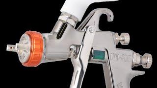 Краскопульт Iwata LPH 400 модель LVX(Японский краскопульт Iwata LPH 400 низкого давления работает при входящем давлении 1,3 бар и потребляет всего..., 2015-01-21T08:03:49.000Z)
