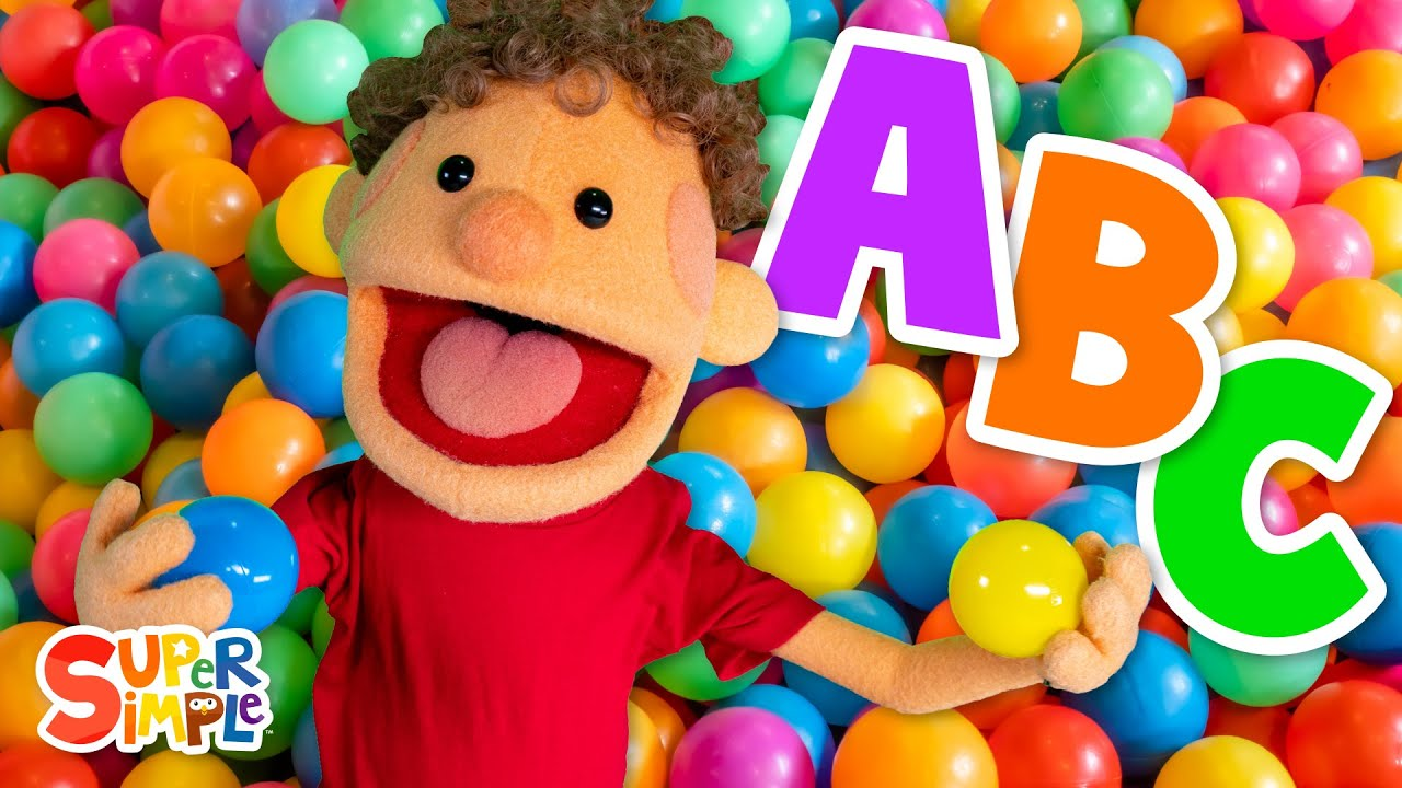 Learn the ABCs with the Super Duper Ball Pit   Alphabets for kids