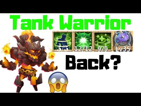 Plant Warrior |12/12 Skill | 9/9 Regenerate | 5/5 Holy Conviction | Castle Clash
