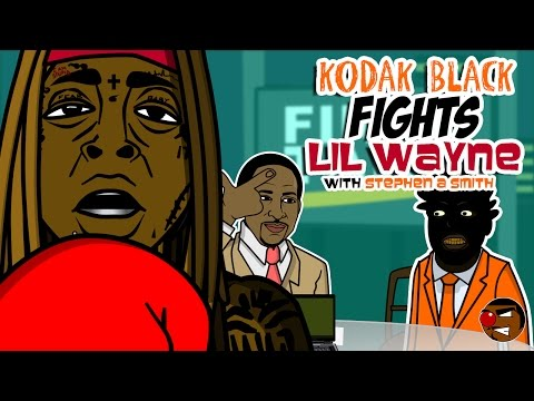 Kodak Black fights Lil Wayne 😂 (We Are Young Money 13)