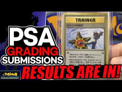 SHADOWLESS CHARIZARD!!! Pokemon Card PSA Submission | August 2017 RESULTS!!!