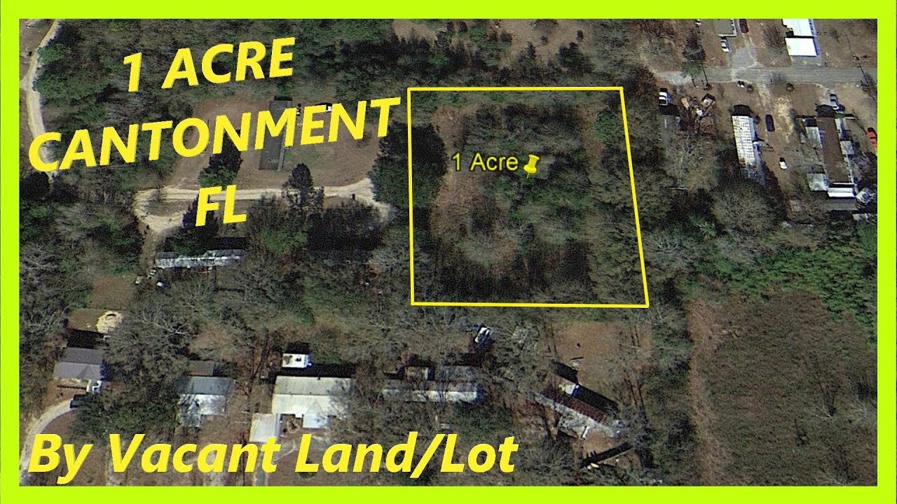 SOLD! Land for sale in Cantonment FL - 1 Acre in Cantonment, Escambia county, Florida