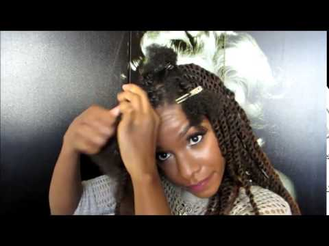 Equal Synthetic Cuban Twist Braid Double Strand Style