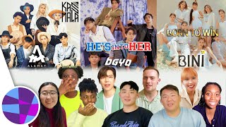 Foreign K-pop Fans React to ALAMAT, BGYO, BINI #PPOP (First Time!) | EL's Planet